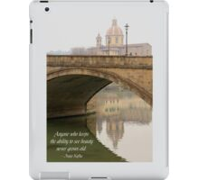 Forever young. iPad Case/Skin