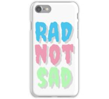 Rad Not Sad Creepster Design iPhone Case/Skin