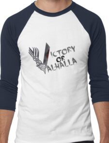 Victory or Valhalla Men's Baseball ¾ T-Shirt