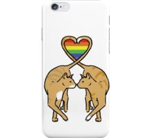 Gay Pride Cats iPhone Case/Skin