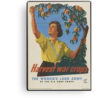 The Women's Land Army Canvas Print