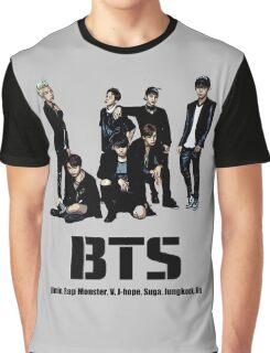 BTS Bangtan Boys Graphic T-Shirt