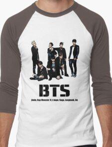 BTS Bangtan Boys Men's Baseball ¾ T-Shirt