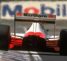 Formula 1 Ayrton Senna Imola Sticker