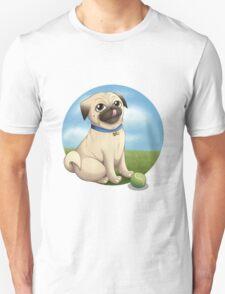 Pug Playtime Unisex T-Shirt