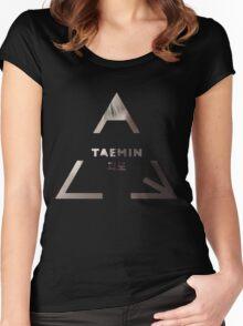 Taemin - Danger Women's Fitted Scoop T-Shirt