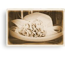 Old Hat Canvas Print