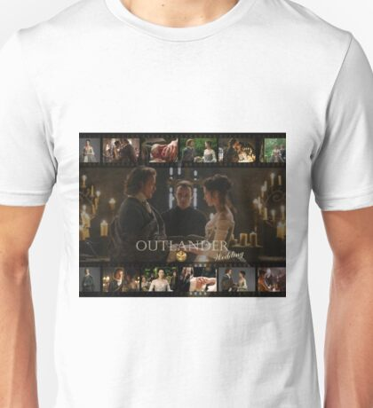 Outlander wedding collage Unisex T-Shirt