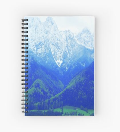 Somewhere Deep In the Mountains Spiral Notebook