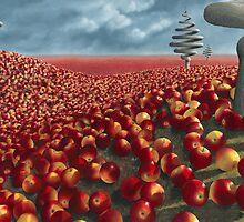 Malus arvum by Patricia Van Lubeck