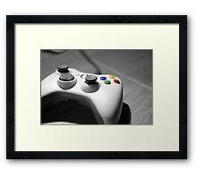 Lonely Gamer Framed Print