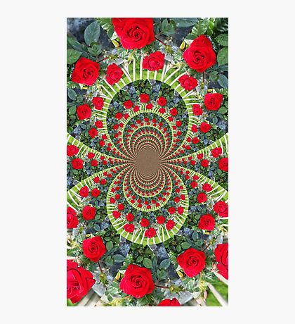 Rose Digital Art Photographic Print