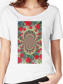 Rose Digital Art Women's Relaxed Fit T-Shirt