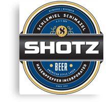 Shotz Brewery Canvas Print