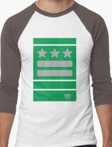 DC Represent (green) Men's Baseball ¾ T-Shirt