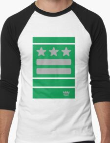 DC Represent (green) Men's Baseball ¾ T-Shirt