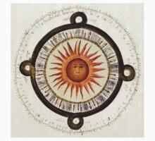 Aztec Sun Calendar Kids Tee