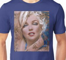 MM mucha 2 blue Unisex T-Shirt
