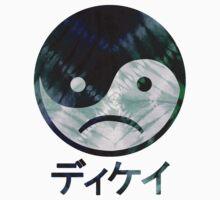 Yin Yang Face III Kids Tee