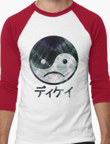 Yin Yang Face III Men's Baseball ¾ T-Shirt