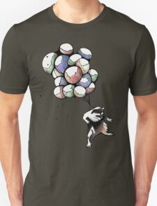 Balloon Raccoon Unisex T-Shirt