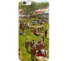 Carnival - Summer at the carnival 1900 iPhone Case/Skin