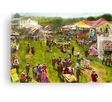 Carnival - Summer at the carnival 1900 Canvas Print