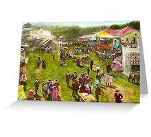 Carnival - Summer at the carnival 1900 Greeting Card