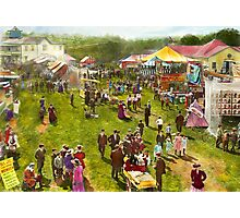Carnival - Summer at the carnival 1900 Photographic Print