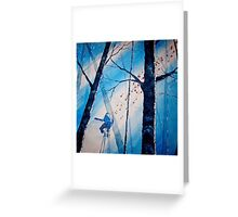 The Beautiful Blues Greeting Card