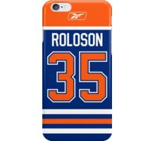 Edmonton Oilers Dwayne Roloson Jersey Back Phone Case iPhone Case/Skin