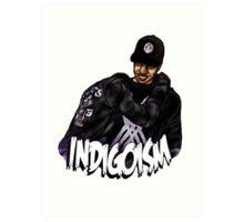 Indigoism Art Print