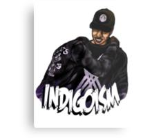 Indigoism Metal Print