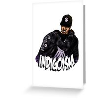 Indigoism Greeting Card