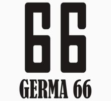 Germa Double-Six One Piece - Short Sleeve