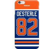 Edmonton Oilers Jordan Oesterle Jersey Back Phone Case iPhone Case/Skin