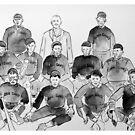 Cuban Giants Baseball Team by Daniel Gallegos