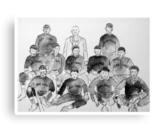 Cuban Giants Baseball Team Canvas Print