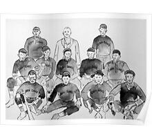 Cuban Giants Baseball Team Poster