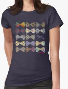 bow tied  Womens Fitted T-Shirt