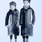 Early 20th Century Newsboys 2  by Daniel Gallegos