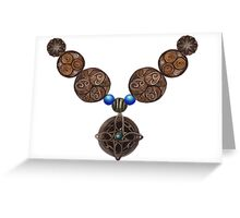 Is that an Amulet of Mara? Greeting Card