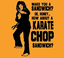 Karate Chop Sandwich Womens Fitted T-Shirt