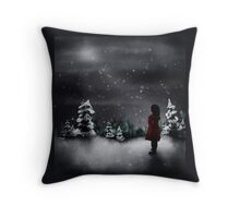 Christmas scene 2013 Throw Pillow