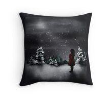 Christmas scene 2013 Throw Pillow