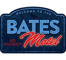 Bates Motel Photographic Print