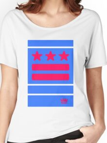 DC Represent (blue) Women's Relaxed Fit T-Shirt