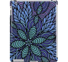 Waves of Floral iPad Case/Skin