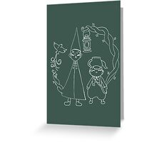 Over the Garden Wall Greeting Card