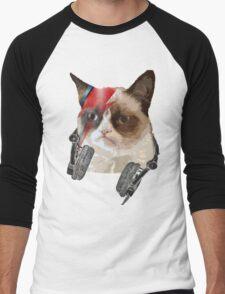 Cat bowie Men's Baseball ¾ T-Shirt